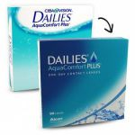 Focus Dailies Aqua Comfort Plus 90шт